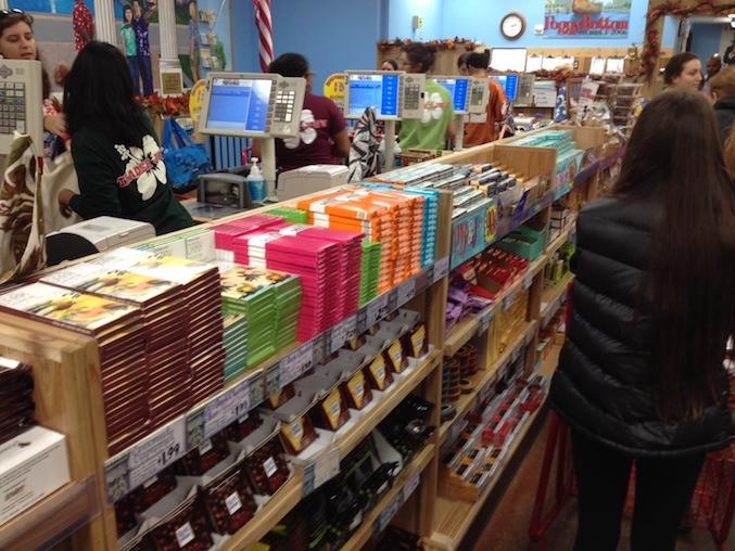 Checkout Corral at Trader Joe's