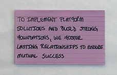 Implementation Team Vision Statement