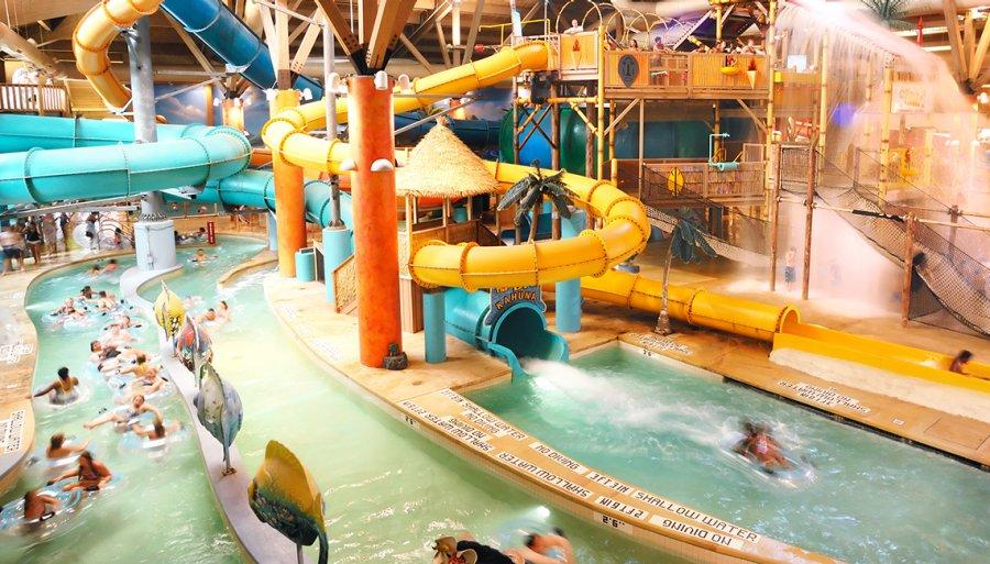 photo of splash lagoon waterpark