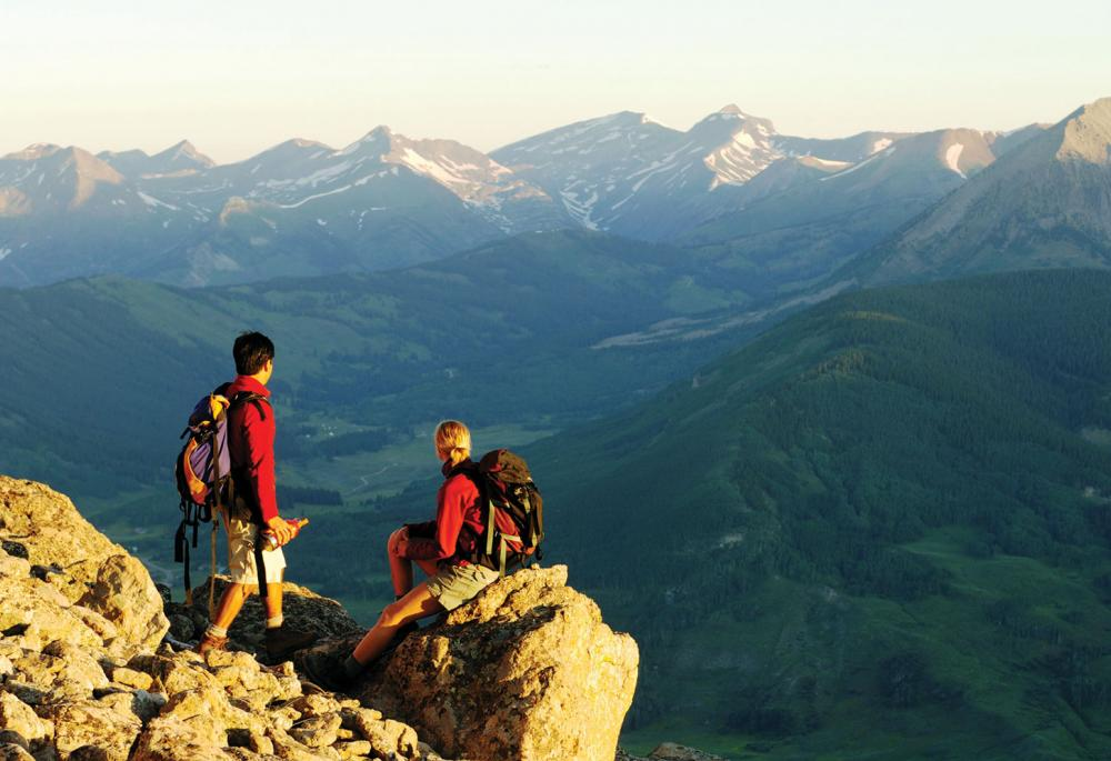 Summer Mountain Hiking