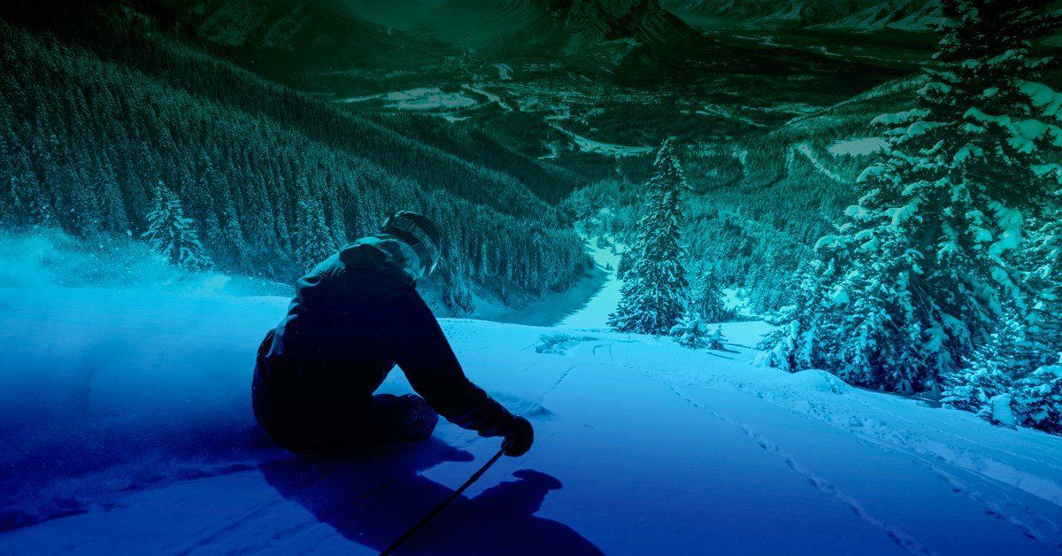 photo of skier