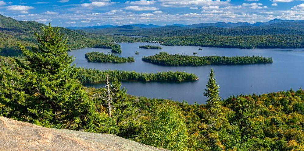 view of adirondack mountains