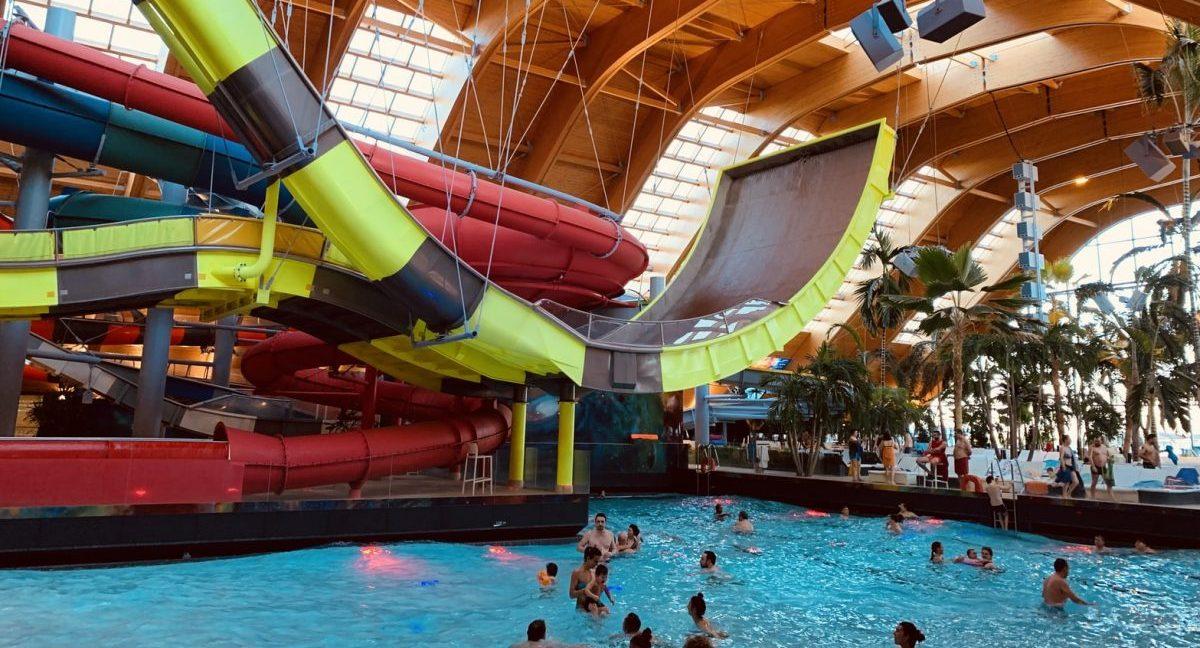 photo of indoor water park